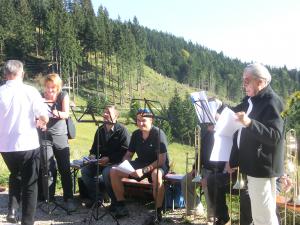 Letzter Berggottesdienst auf dem Kolbensattel am 25.9.2016