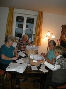 Kirchgeld-Brief falten November 2016