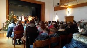 Kindergottesdienst im kleinen Theater 24.12.2016