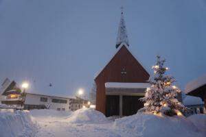 Weihnachtliche Stimmung am 20.02.21 kurz vor Lichtmess