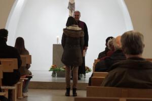 Verabschiedung und Neubeginn: Frau Horn - Neue Pfarrsekretäring
