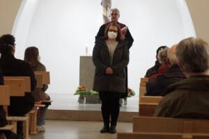 Verabschiedung und Neubeginn: Frau Husen - Begrüßung als Pfarrsekretärin