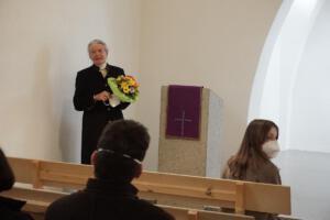 Verabschiedung und Neubeginn: Frau Wagner -Verabschiedung als Kirchenvorsteherin und Vertrauensperson