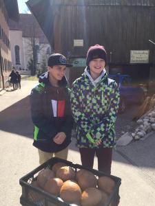 Konfi-BrotbackenBäckerei Aurhammer Oberammergau20.03.2019
